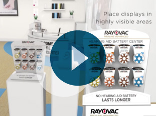 video thumbnail of Rayovac promotional materials